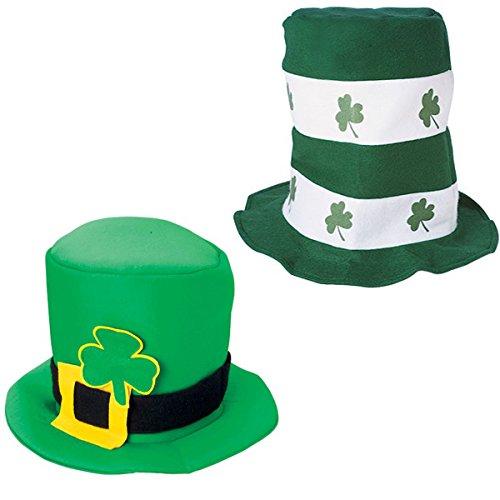 St.Pa (Black Stove Pipe Hat)