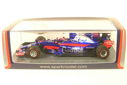 Spark Toro Rosso - Renault STR12 - USA GP 2017 Car Collectible S5052, Blue/Red