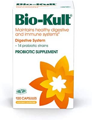 Bio-Kult Advanced 14 Strain Probiotic Supplement  - Probiotics for Maintaining Healthy Digestive and Immune Systems – Pack of 120 Capsules