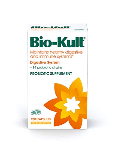Soy Yogurt Probiotic - Bio-Kult Advanced 14 Strain Probiotic Supplement  - Probiotics for Maintaining Healthy Digestive and Immune Systems – Pack of 120 Capsules