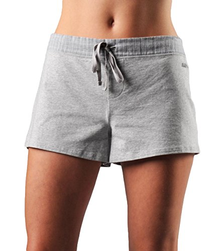Naked Womens Essential Causal Shorts Double Cotton Lounge...