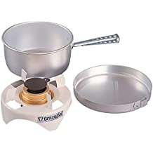 Trangia - Spirit Alcohol Stove Camping Cookset | Includes: Alcohol Stove, Pot Stand, Pot, Frypan, & Handle