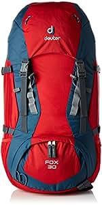 Deuter Fox 30 Kid's Hiking Backpack, Fire/Arctic