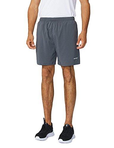 Male Running Short - Baleaf Men's Woven 5
