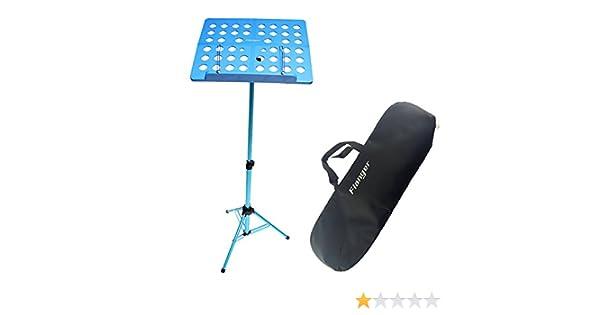 JUMP Flanger - Soporte de música plegable profesional para orquesta (azul): Amazon.es: Instrumentos musicales