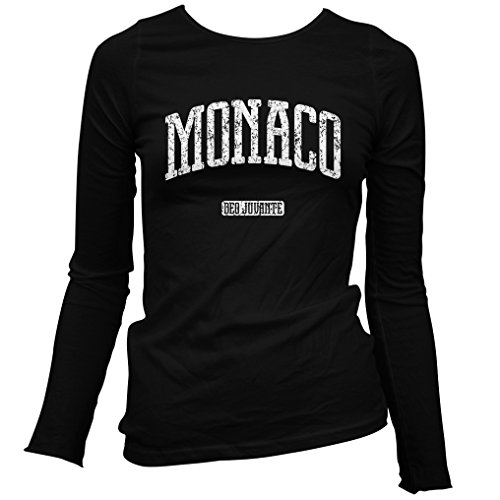 Smash Vintage Women's Monaco Long Sleeve T-Shirt - Black, XX-Large (Grand Royale Poker)