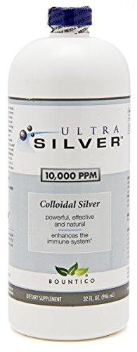 Ultra Silver Colloidal Silver 10000 PPM - 32 Oz