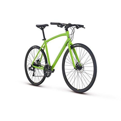 Raleigh Bikes Cadent 2 Fitness Hybrid Bike, Green, 15