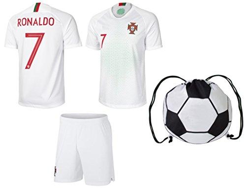 Portugal Soccer//Football Team Fans Youth Hoodie Medium Black Tstars