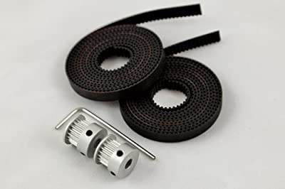 GT2 Belt and Pulley Set for 3D Printers (reprap, Prusa, MendelMax)