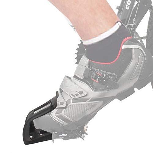 (Wellgo Mountain Bike Pedal Strapless Toe)