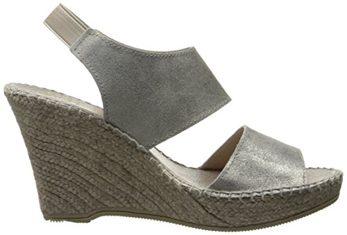 41 11 Assous Andre Sandal Reese EU Espadrille Platino US M A Pewter Women dawCw60zqF