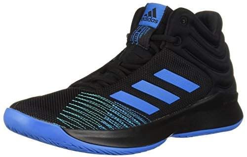 adidas Men's Pro Spark 2018 Basketball Shoe Bright Blue/Black, 10.5 M US by adidas
