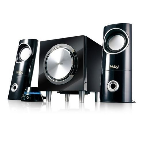 Frisby NEW PC Computer Desktop Laptop Notebook Speakers System with Subwoofer from Frisby