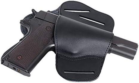 Gexgune Leather IWB Funda de Pistola Oculta para Glock 17 19 22 23 43 Sig Sauer Ruger Beretta 92 M92 SY Funda de Piel Oculta