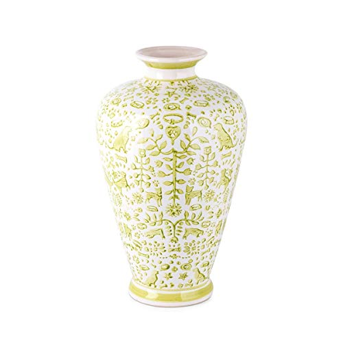 Pattern Textile Lime Green - CC Home Furnishings 14.25