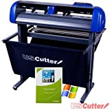 USCutter TITAN 28 inch Vinyl Cutter with Stand, Basket and VinylMaster Cut (Design and Cut) Software