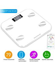 Festnight BT Body Intelligent Fat Scales Weight Scale High Precision Gift for Family Body Health Care