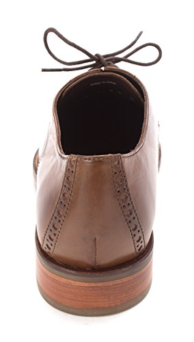 Cole Haan Hombres Gilbertsam Leder Oxfords Brown