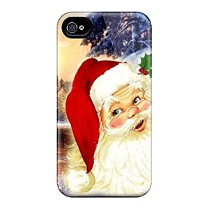 New Premium Strahan Santa Claus Skin Case Cover Excellent Fitted For Iphone 4/4s
