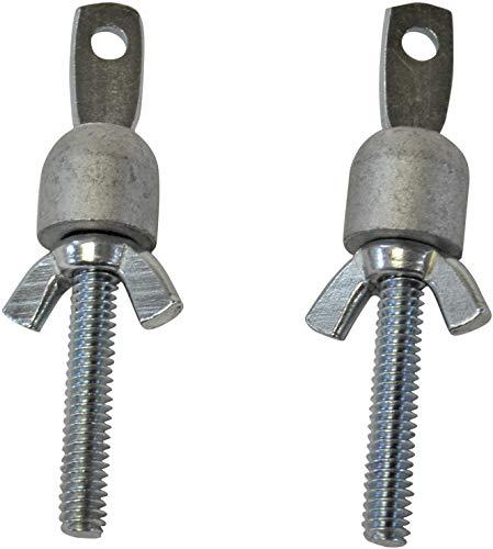 Recliner-Handles Spring Eyebolt and Bullet Assembly for Leggett & Platt Mechanism, 1 Pair