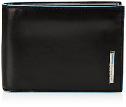 Piquadro Man's Wallet In Leather, Black 1392B2, One Size by Piquadro