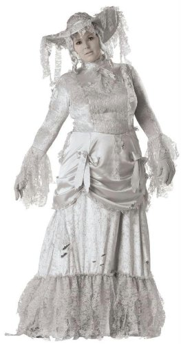 Costumes For All Occasions Ic5015Xxl Ghostly Lady Adlt Plus Xxlg