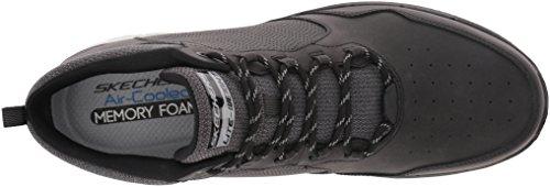 Skechers Flex Advantage 2.0, Zapatillas Altas para Hombre Negro (Black)