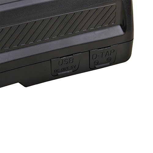 Kastar BP-GL178 Broadcast Replacement V Mount Battery, 14.8V 12000mAh 178Wh for Sony PMW-EX330K PMW-EX330L PMW-580K PMW580L PDW-680 PDW-700 PDW-850 PMW-TD300 HDW-F900R HDW-680 HDW-800P PMW-F55 PMW-F5 by Kastar (Image #5)