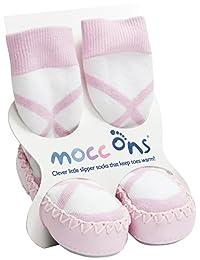 Mocc Ons Ballet Pink 6-12M