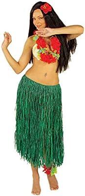 Rafia Verde Falda Hula: Amazon.es: Juguetes y juegos