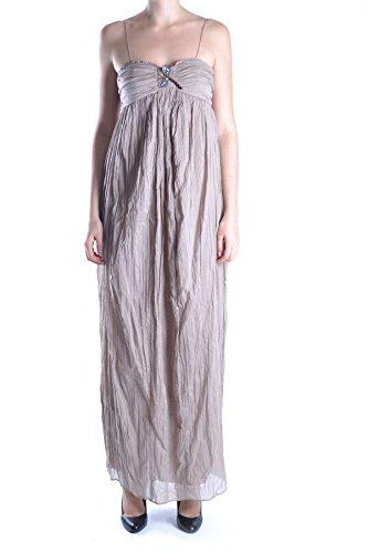 Liu Jo Mujer MCBI191408O Beige Algodon Vestido