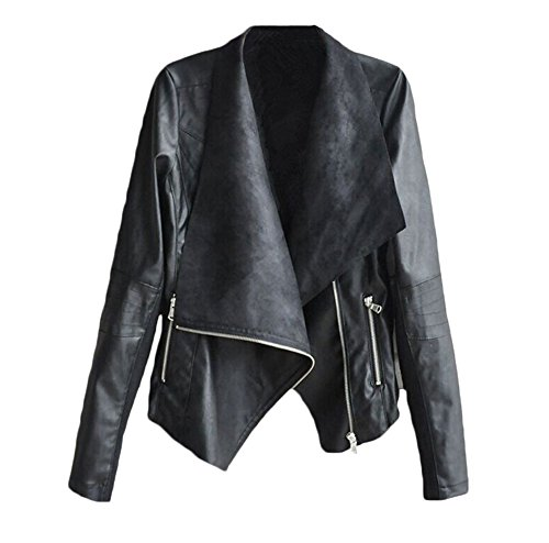 Leather Vintage Coat - 5