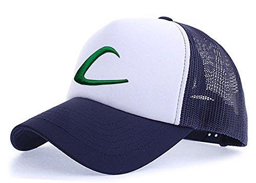 myglory77mall Sombrero de Animado para Hombre Azul Marino / T1 Blanca