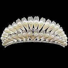 Halloween headdress Women's Rhinestone/Alloy/Imitation Pearl Headpiece - Wedding 1 Piece Christmas headdress