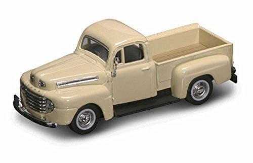 1940's Cream - Road Signature 1948 Ford F-1 Pickup Truck, Cream 94212 - 1/43 Scale Diecast Model Toy Car