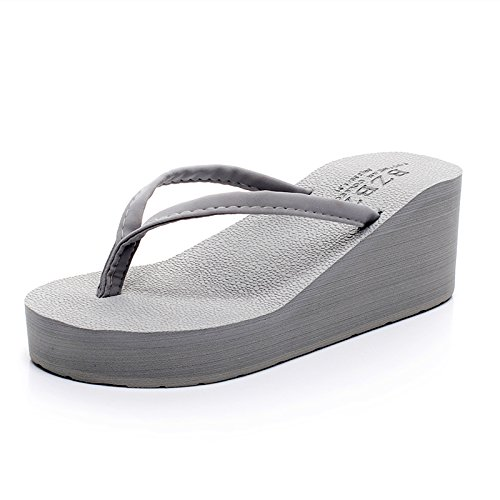 Flop E Frana Pantofole Onorevoli Sbandata Moda Alta Per gray Pantofole Estate Donna Prevenzione Cool Scarpe Flip Da Comfort Spiaggia q67x4P