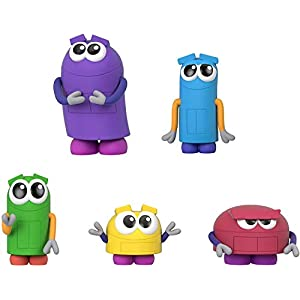 Best Epic Trends 4154aeSJqWL._SS300_ Fisher-Price StoryBots Figure Pack, set of 5 figures featuring characters from the Netflix series for preschool kids…