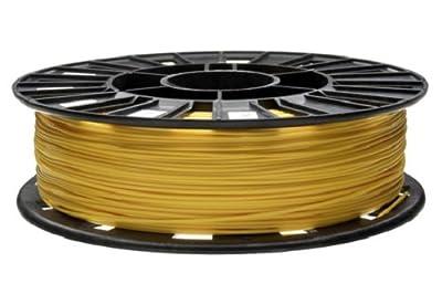 REC PLA Yellow 3D Printing Filament, 1.75 MM, 750 Gram
