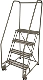 product image for Cotterman (Rolling) Ladder - 40in. Max. Height, Model Number 4TR26A1E10B8C1P6