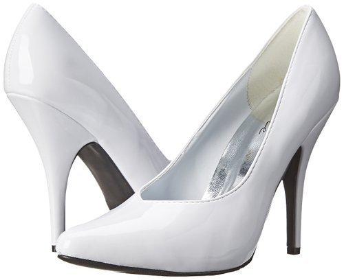 Ellie Shoes 8220 White Patent Size: 9