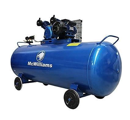 Compresor de aire con depósito de 500 litros y motor de 3 caballos de fuerza