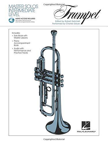Master Solos Intermediate Level - Trumpet: Book/Online - Solo Trumpet Music