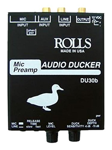 rolls DU30B Mic Preamp Audio Ducker