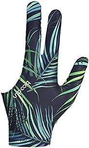 Newmind Portable Billiard Gloves Women Men Left/Right Hand Non-Slip Universal Open 3 Fingers Show Gloves Shoot