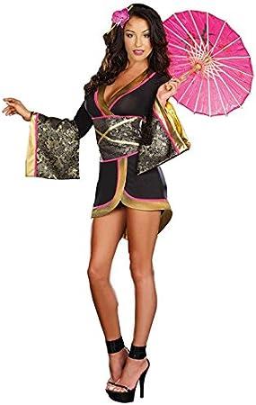 Disfraz de mujer japonesa para disfraz de Halloween, fiesta ...