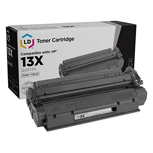 - LD Remanufactured Toner Cartridge Replacement for HP 13X Q2613X High Yield (Black)