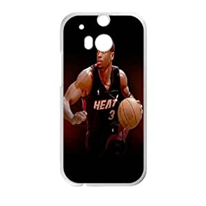 Dwyane Wade HTC One M8 Cell Phone Case White G6851700