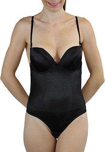 ToBeInStyle Women's Women's Thong Backless Body Shaper - Black - 34B