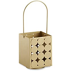 Kate Aspen Circle of Love' Classic Lantern, Gold